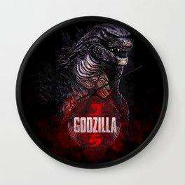Godzilla II Wall Clock