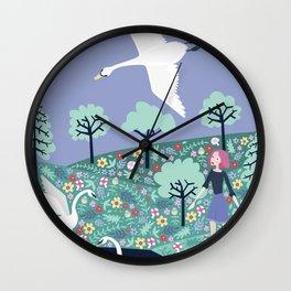 Children of Lir Wall Clock