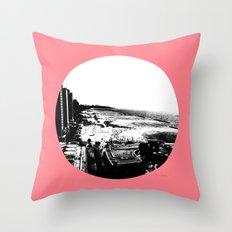 Tel Aviv Beach Throw Pillow