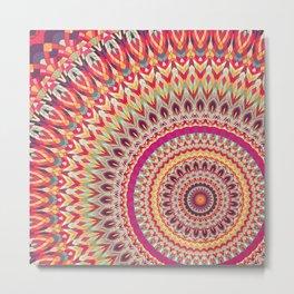 Mandala 318 Metal Print