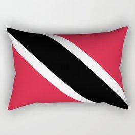 Trinidad & Tobago Flag Rectangular Pillow