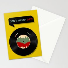 Don´t wanna die!!! Stationery Cards