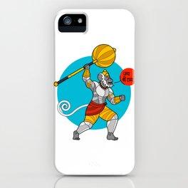 Hanuman Cheers! iPhone Case