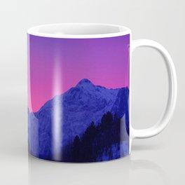 Dawn in Mountains Coffee Mug
