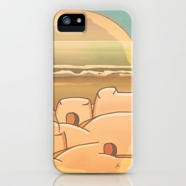 Beached Labyrinth iPhone Case
