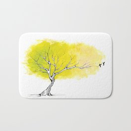 The Hummingbird Tree Bath Mat