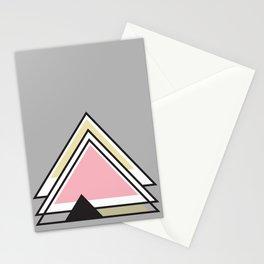 Minimalist Triangle Series 010 Stationery Cards
