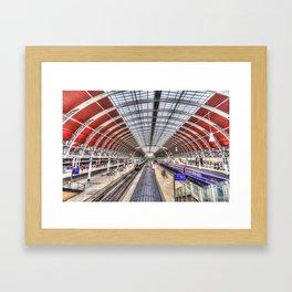 Paddington Station London Framed Art Print