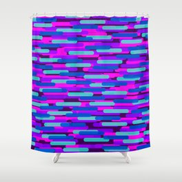 Fast Capsules 7 Shower Curtain