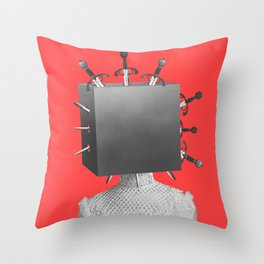 Magicians Assistant Throw Pillow