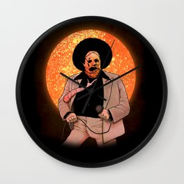 THE TEXAS DISCO MASSACRE Wall Clock