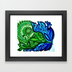 Oxygen Framed Art Print