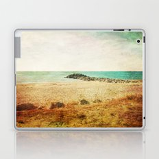 Beach in southern France - summer memories Laptop & iPad Skin