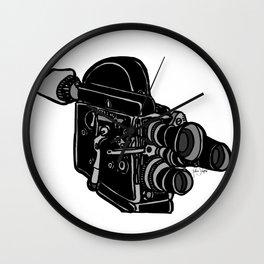 16mm Camera Wall Clock