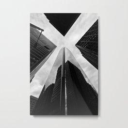 Philly X Metal Print