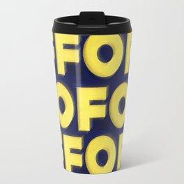 OMUNDOPORAI Edward Ruscha Travel Mug