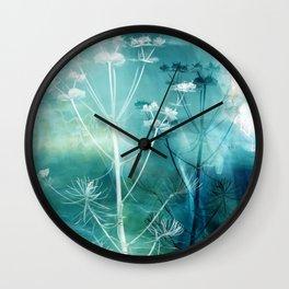 Meadow Grasses Wall Clock