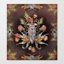 Jardin secret Canvas Print