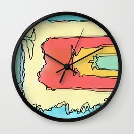 Colorful Jazz Wall Clock
