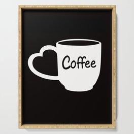 Mug of Coffee Serving Tray
