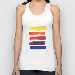 Happy Color Stripes Unisex Tank Top