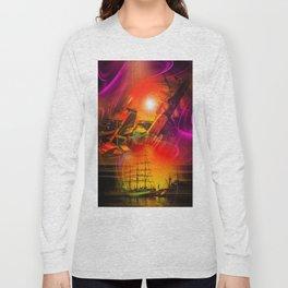 Sailing romance 12 Long Sleeve T-shirt