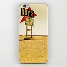 Roy's Motel and Cafe (Route 66) iPhone Skin