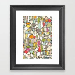 BROKEN POP Framed Art Print