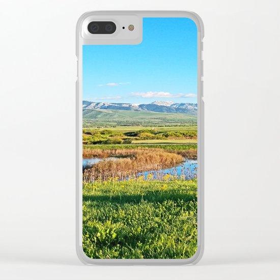 Grass Lands in Utah Clear iPhone Case
