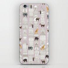 urban jungle blush pink iPhone & iPod Skin