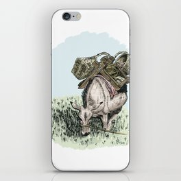 Pack Mule iPhone Skin