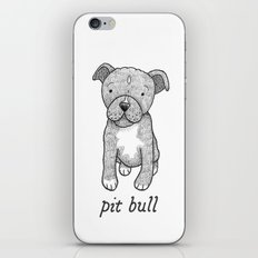 Dog Breeds: Pit Bull iPhone & iPod Skin