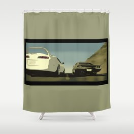 For Paul Shower Curtain