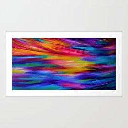 ETHEREAL SKY Art Print