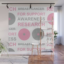 Breast Cancer_01 by Victoria Deregus Wall Mural