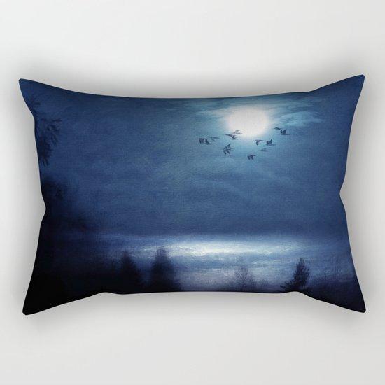 Blue hope Rectangular Pillow