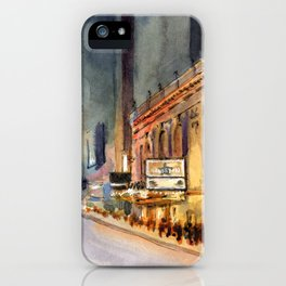 Richard Rogers - Hamilton Marquee iPhone Case