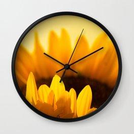 Sunflower Rise Wall Clock