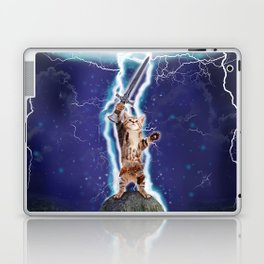 Lightning Cat Laptop & iPad Skin