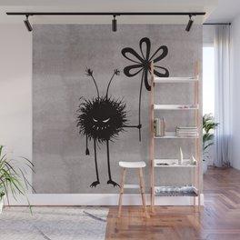 Evil Flower Bug Wall Mural