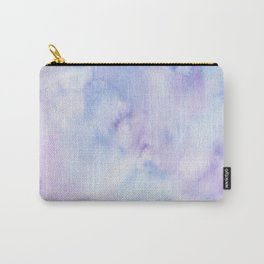 Mermaid Vibes - Purple Blue Ocean Splash Carry-All Pouch