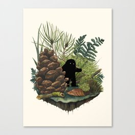 Tiny Sasquatch Canvas Print