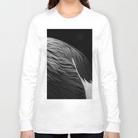 crane Long Sleeve T-shirts featuring Crane by Bart De Keyzer