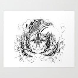 sulfre Art Print
