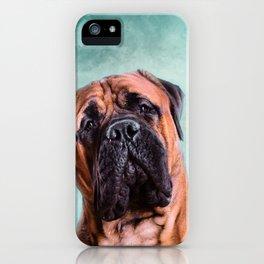 Bullmastiff dog iPhone Case