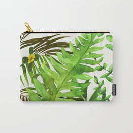 Watercolor Plants Carry-All Pouch