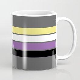 Enby Flag Coffee Mug
