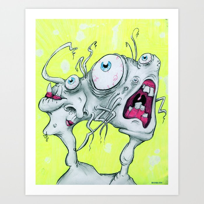 Frustration Art Print
