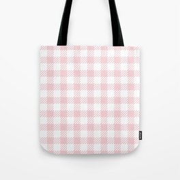 Pink Vichy Tote Bag