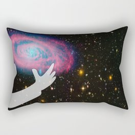 A Difficult Choice Rectangular Pillow